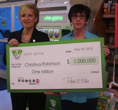 Fairfax County Woman Has $ 1 Million Powerball Winner
