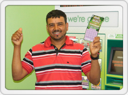 Construction Worker Wins Big Prize In Scratcher Game
