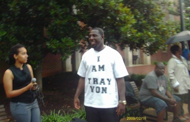 Area Residents Rally And March To Support Trayvon Martin