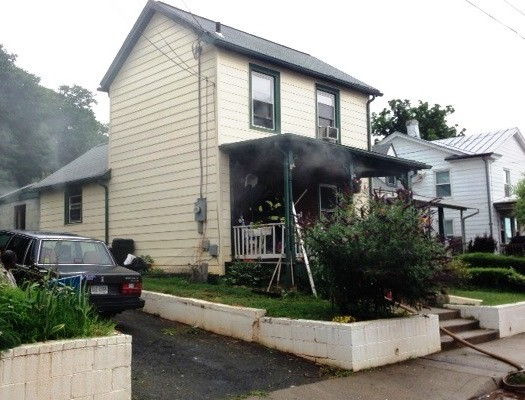 Kitchen Fire On Anderson Street