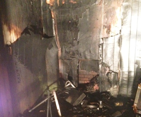 Separate Fires Damage Carlton Avenue Trailer, Kitchen On Longwood Drive