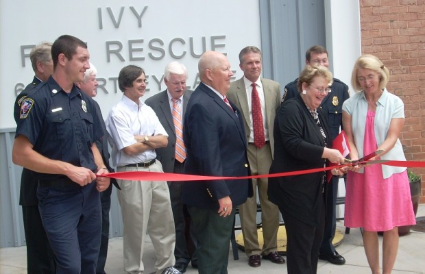 Ivy Fire Station Dedicated