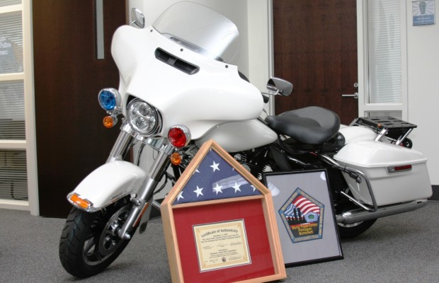 Albemarle Police Get Donated Motorcycle