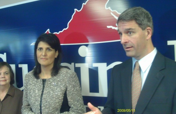 Cuccinelli And S.C. Governor Stump In Albemarle