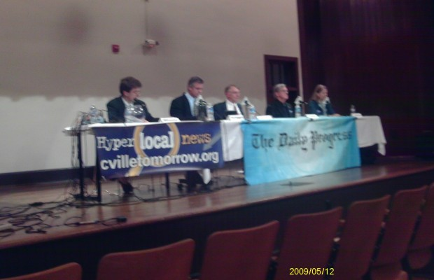 Council Candidates Attend Final Forum