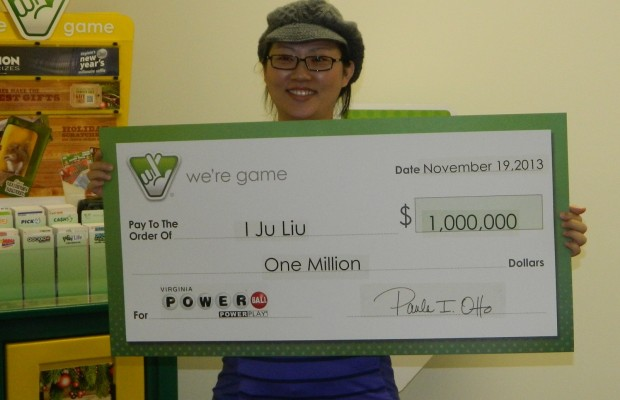 Local Woman Wins $ 1 Million Playing Powerball
