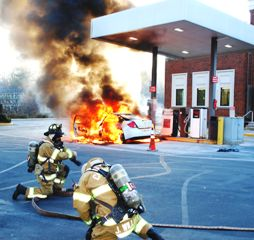 Powhatan Gas Station Fire Blamed On Static Electricity
