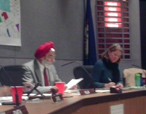 Huja Re-elected Mayor