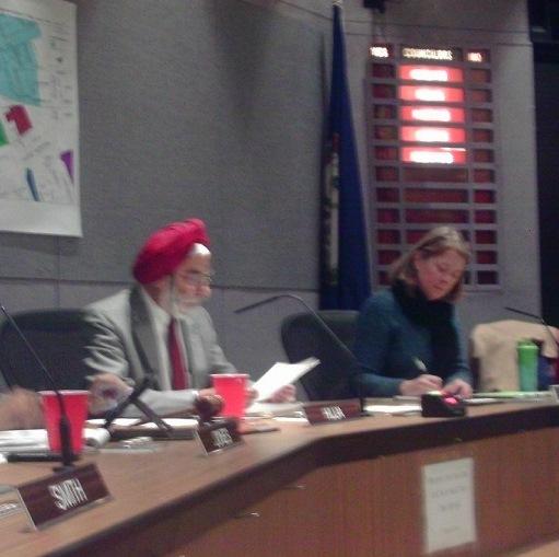 Huja Re-elected Mayor