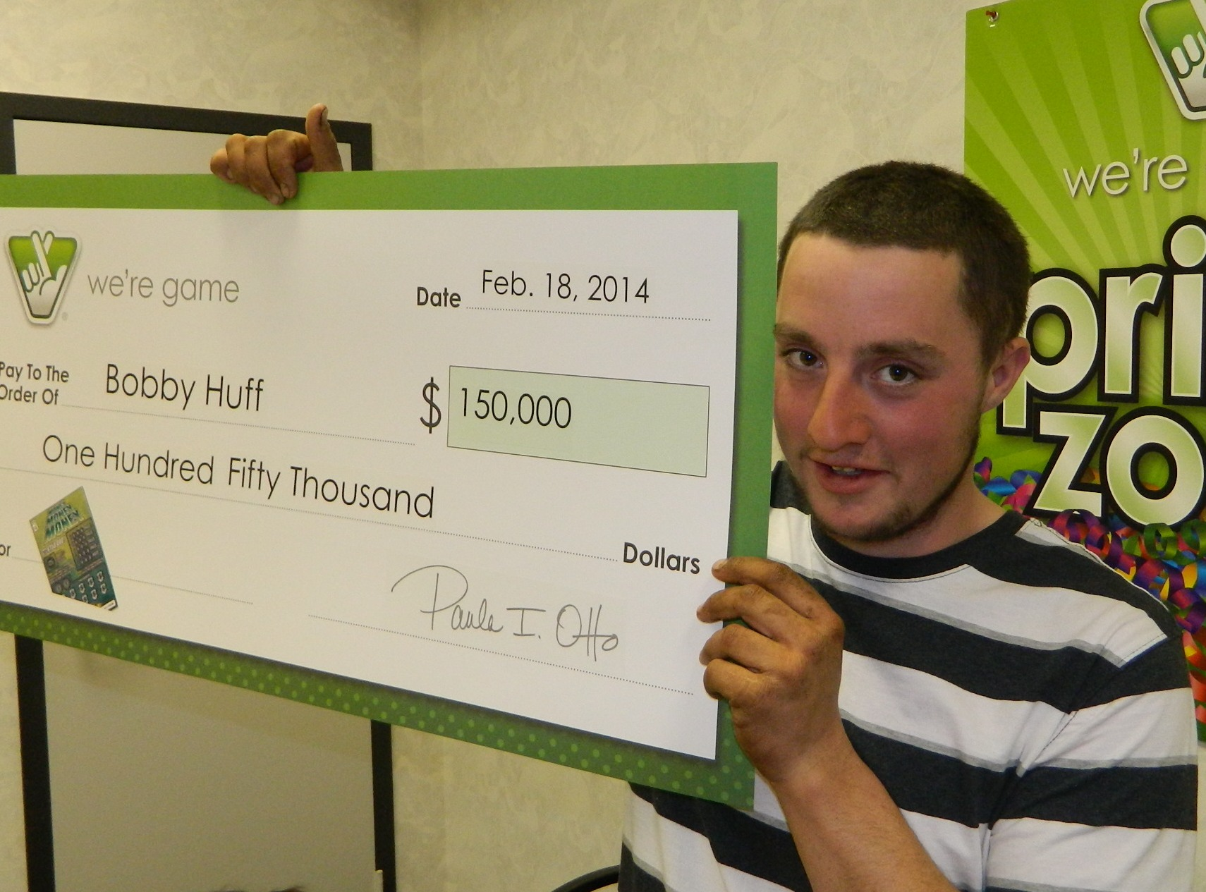 Charlottesville Man Wins Big Prize In Scratcher Game