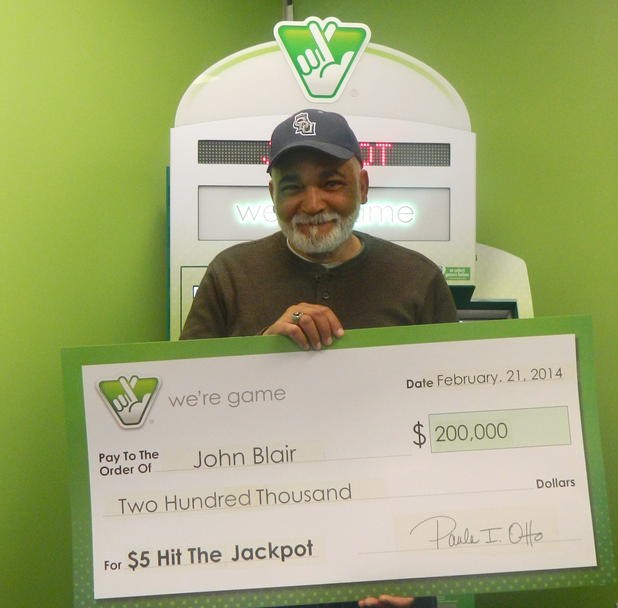 Area Retiree Gets Jackpot Thanks To A Scratcher Game