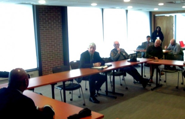 Herring Meets With Local Prosecutors, Police