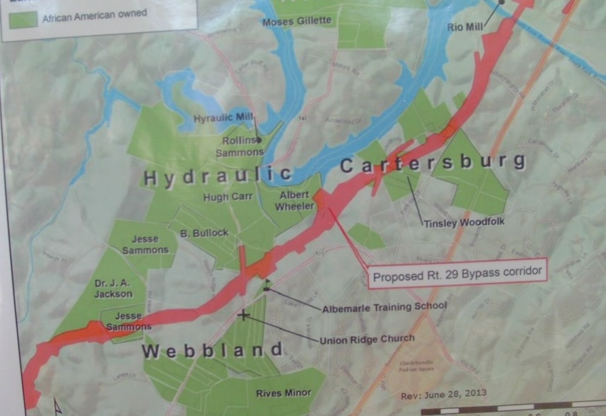 Area Residents Discuss Establishment of African-American Trail