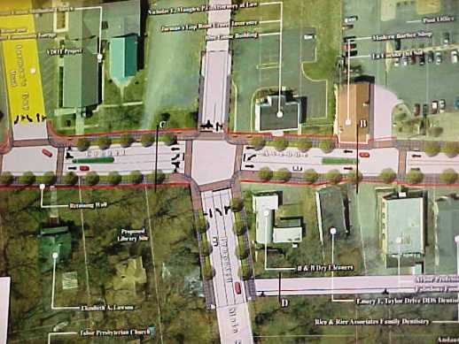 Groundbreaking For Crozet Streetscape Project