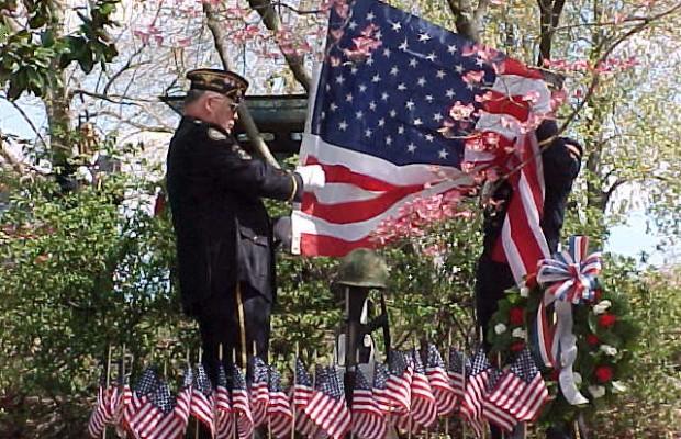 Area Residents Help Re-Dedicate Vietnam Veterans Memorial