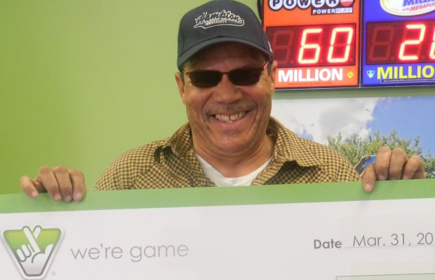 Man Wins Six-Figure Prize Thanks To Lottery Ticket