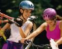 Women on bikes~ 620x400 DL