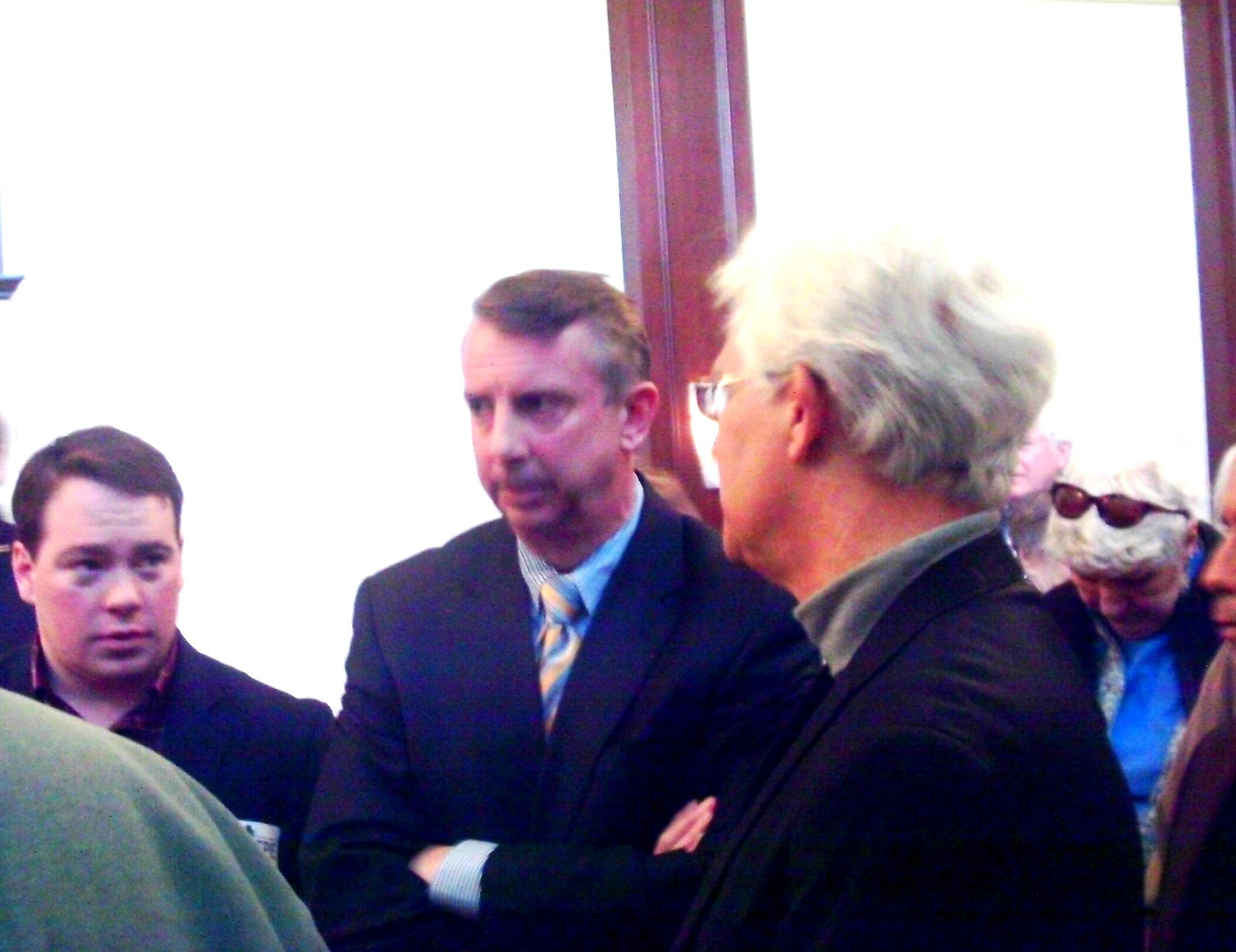Gillespie Brings Senate Campaign To Charlottesville