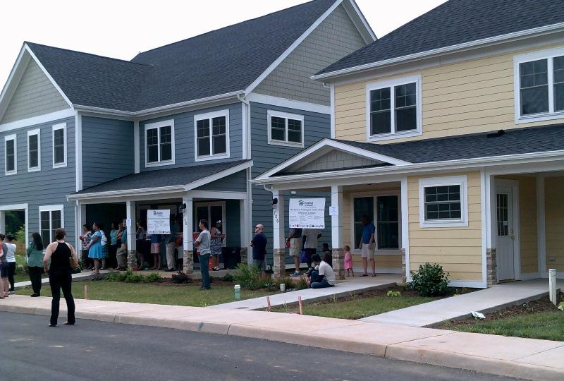 Habitat For Humanity Celebrates Belmont Cottages