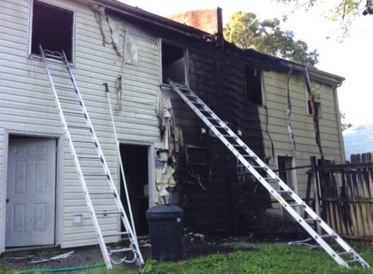 UPDATE: Fire Damages Prospect Avenue Apartments