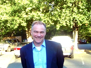 Kaine Tours New Louisa High School Construction