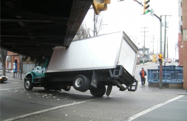 Truck-Eating Bridge Claims Another Victim
