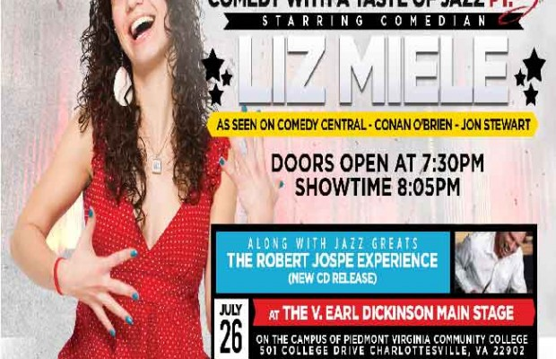 Comedy with a Taste of Jazz – Benefit Charlottesville Albemarle SPCA