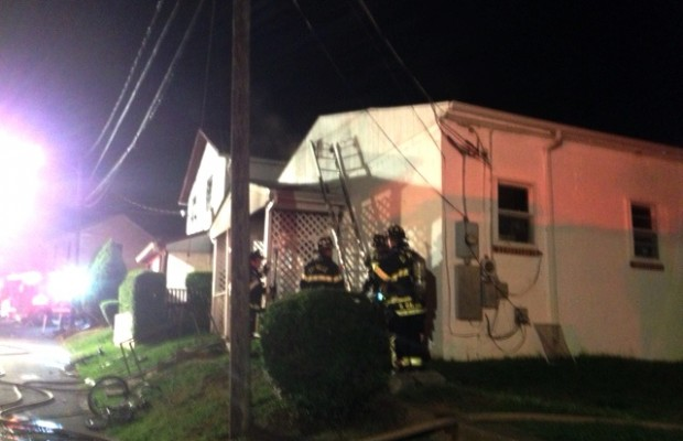 Fire Displaces Anderson Street Family