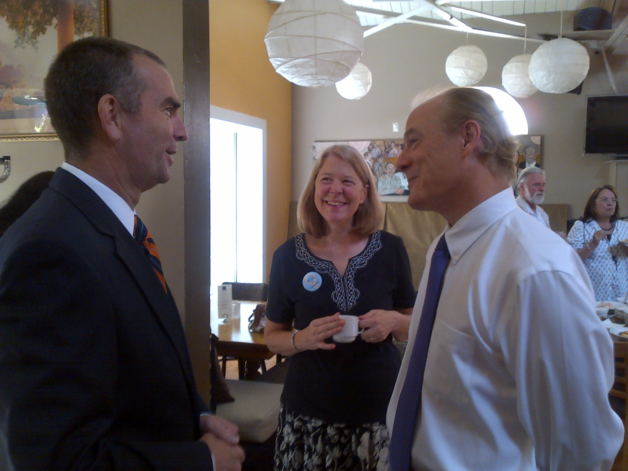 Gaughan Gets Local Fundraising Help From Northam