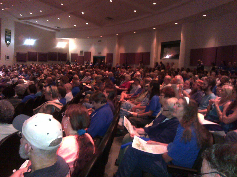 Hundreds Gather To Oppose Natural Gas Pipeline