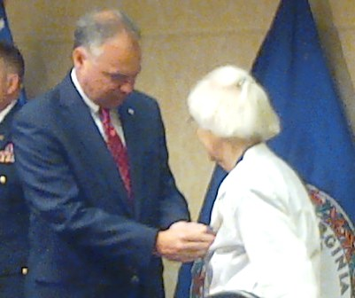 WWII WAC Veteran Finally Gets Her Medals