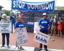 Anti-Pipeline Demonstrators 091014