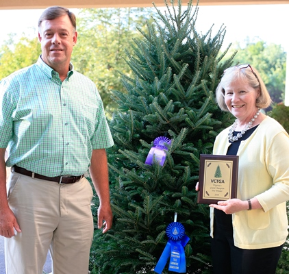 Virginia Grand Champion Christmas Tree From Louisa County