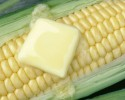 butter on corn clipart