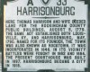 Harrisonburg Historical Marker 071102 JP