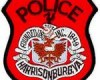 Harrisonburg Police Badge  110908