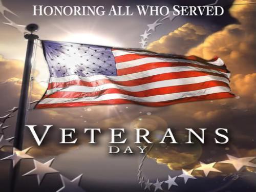 Happy Veterans Day 2015 - Google Doodle